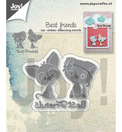 AliliArts Metal Cutting Dies Best Friends diy Scrapbooking Photo Album Decorative Embossing PaperCard Crafts Die 2020