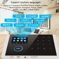 Умный видеодомофон WIFI GSM GPRS Видео дверной телефон дверной звонок камера для квартиры ИК сигнализация беспроводная камера безопасности