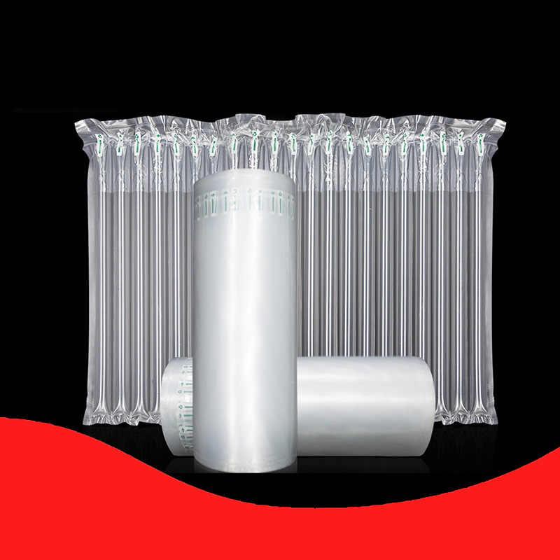 15-110 Cm Merah Anggur Botol Susu Buah Bubuk Kolom Udara Penyangga Gelembung Tas Kemasan Roll Film Perlindungan Inflatable hadiah Piala Mail