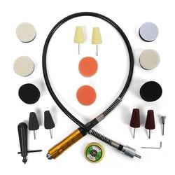 Mini Pad do polerowania Detailing tarcza polerska farby elastyczny wałek zestaw towary dla lakier do samochodu polerka reflektor w Akcesoria do elektronarzędzi od Narzędzia na