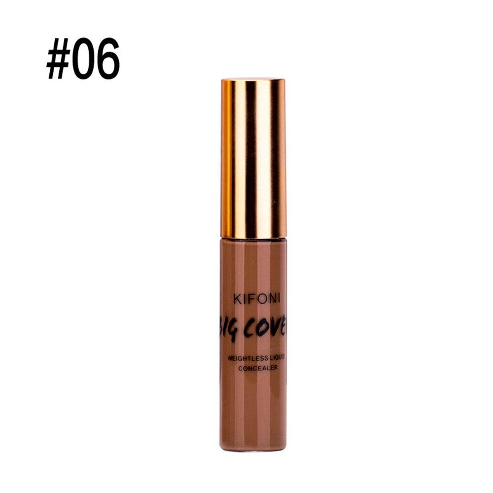 KIFONI Liquid Concealer Cream Face Corrector Primer Full Cover Makeup Make Up Base For Eye Dark Circles Facial Cosmetic TSLM2
