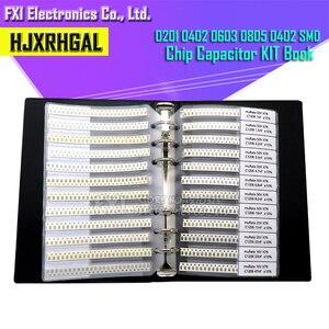 0201 0402 0603 0805 0402 SMD chip kondensator kombination kit 0,5 ~ 10 uf pF kondensator probe buch alle kondensator verkäufe hjxrhgal