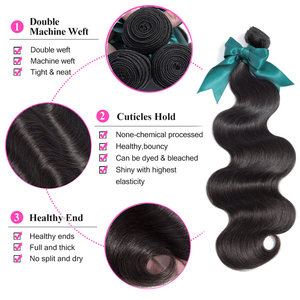 Image 2 - Bling Hair Brazilian Body Wave Human Hair Bundles 8 30 Inch Brazilian Hair Weave Bundles 3/5/10PCS Wholesale Remy Hair Extension