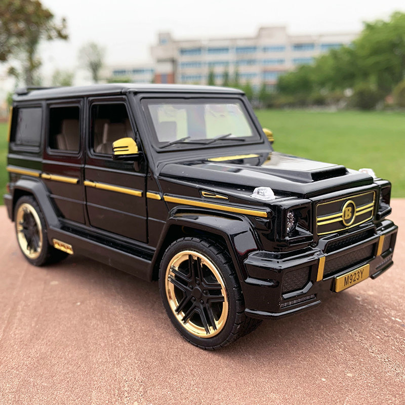 1:24 Mercedes-Benz Babos Alloy Car Model Diecasts & Toy Vehicles Collect Gifts Non-remote Control Type Transport Toy