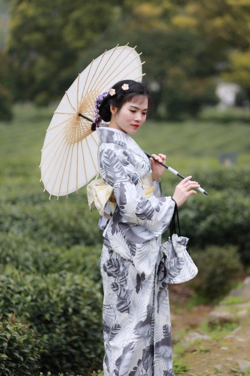 Teenage boy girl face painting geisha stock photo