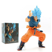 17-24cm Anime Dragon Ball Son Goku Gogeta Vegeta Super Saiya Goku Ultimate warrior Action Figure collection PVC Model toys gift