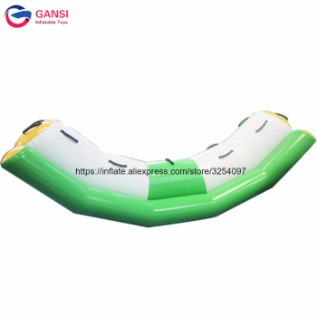 Professional manufacturer water play games inflatable teeterboard 3x1.2m inflatable floating water seesaw for sale professional 4 3 3m water climbing iceberg cheap inflatable water iceberg for water playing