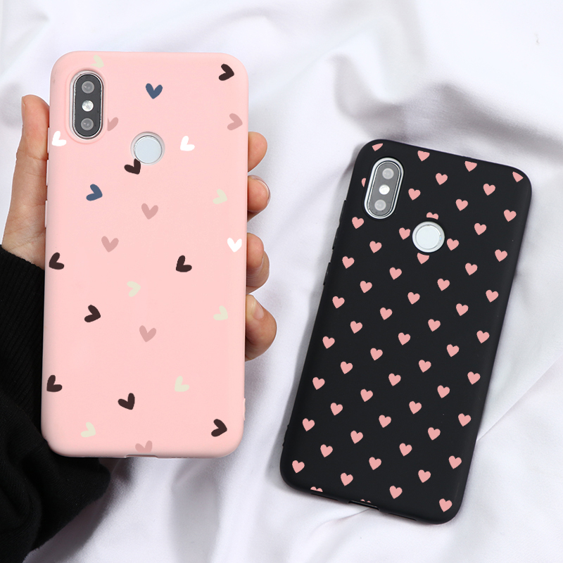 Pink Lovers Soft TPU Case For Xiaomi Mi Redmi Note 9 7 8 Lite 6 5 10 K30 K20 Pro Max 4X 8A 8T A3 9 8 Pro Lite SE S2 F1 Case Capa(China)
