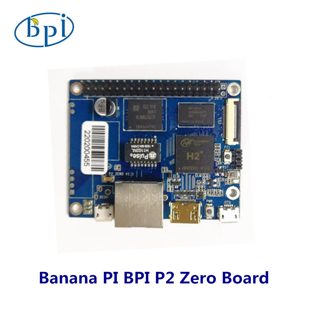 BPI-P2 Zero Quad Core Single-board Computer Support For IoT And Smart Home
