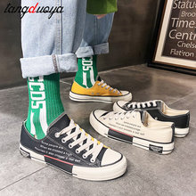 2020 casual shoes women sneakers high top canvas sh