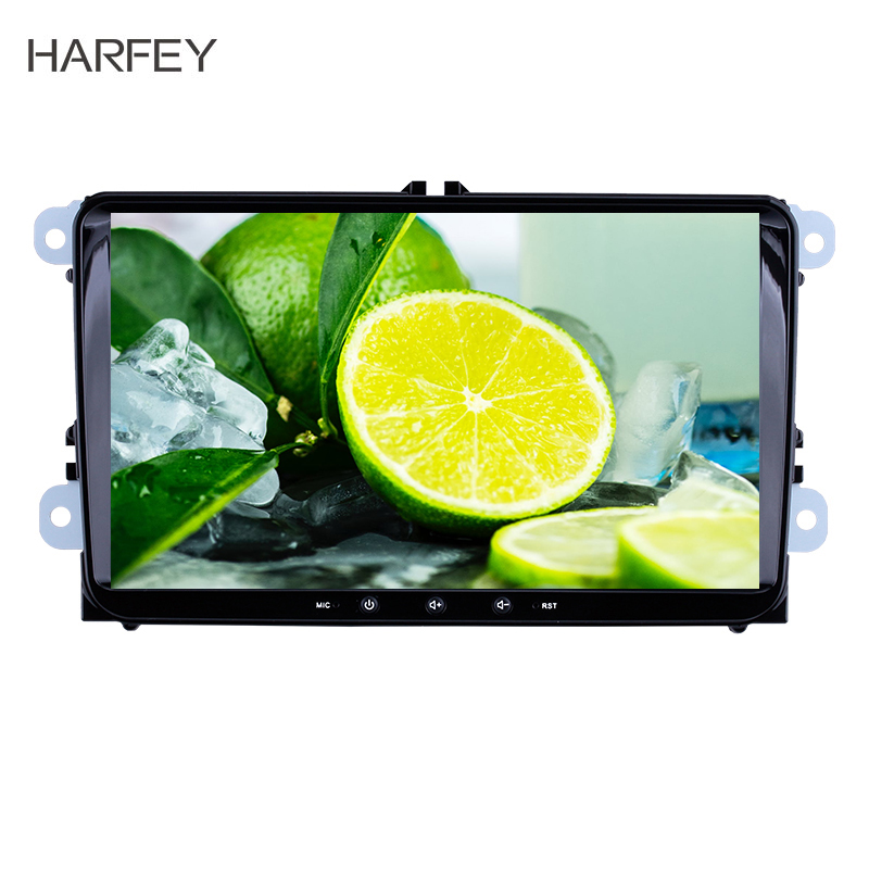 Harfey Universal Car Android 8.1 HD GPS Auto Radio For Skoda/Seat/Volkswagen/<font><b>VW</b></font>/Passat b7/POLO/<font><b>GOLF</b></font> 5 <font><b>6</b></font> Multimedia Player <font><b>2</b></font>+32GB image
