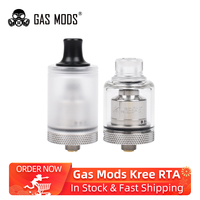 In Stock!! Gas Mods Kree RTA 22mm 3.5ml tank Atomizer with 5 interchangeable air inlets Electronic cigarette VS Zeus X