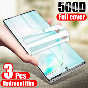 Screen-Protector Hydrogel-Film Note 8 Samsung Galaxy S20-Plus S10 for S8 S9 3pcs on The