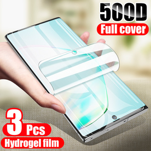 ZNP 3Pcs Hydrogel Film On The Screen Protector For Samsung Galaxy S8 S9 S10 Plus S10e Screen Protector For Samsung Note 8 9 10(China)