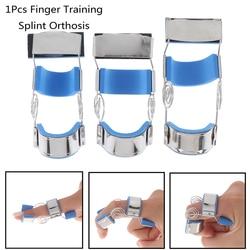 1 pièces attelle d'entraînement des articulations du doigt orthèse Contractures du doigt spasme course Knuckle récupération réadaptation exercice soutien