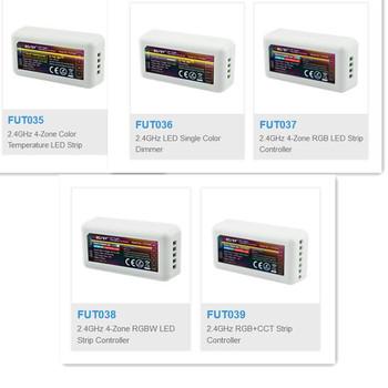 Mi boxer światło mi-light RF bezprzewodowy pojedynczy kolor ściemniacz CCT RGB RGBW RGB + CCT FUT035 FUT036 FUT037 FUT038 FUT039 kontroler taśmy ledowej tanie i dobre opinie MOKUNGIT Kontroler RGB 12-24 v
