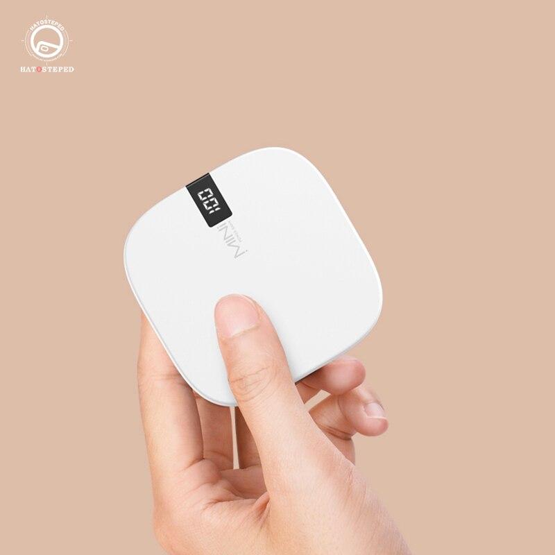 10000 мАч портативное зарядное устройство Мини двойной USB мобильный телефон зарядное устройство Внешний аккумулятор 10000 мАч для Xiaomi Mi