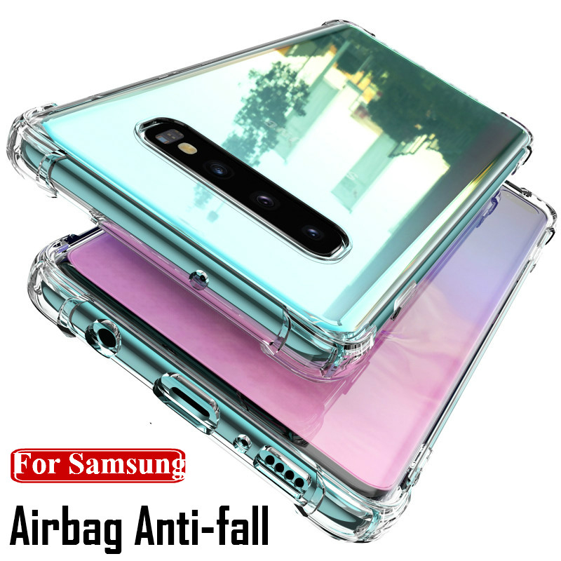Cover Case for <font><b>Samsung</b></font> Galaxy A50 <font><b>A10</b></font> A20 A30 A40 A60 A70 M10 M30 M40 Note 9 10 Plus S 10 8 9 Plus Shockproof Case <font><b>Coque</b></font> Fundas image