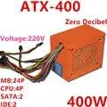 Nueva PSU para Thunderobot ATX AMD Intel Binuclear Quad Core silencioso fuente de alimentación nominal pico 300W 400W fuente de alimentación ATX 400