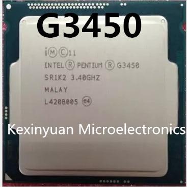 Intel Processor G3450 CPU LGA1150 22 Nanometers Dual-Core 100% Working Properly Desktop Processor