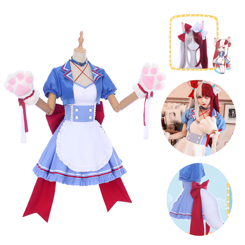 Midoriya Izuku Todoroki Shoto Bakugou Katsuki Kaminari Denki Maid Dress  Uniform Cosplay Costume Anime My Hero Academia Halloween - buy at the price  of $12.05 in aliexpress.com | imall.com