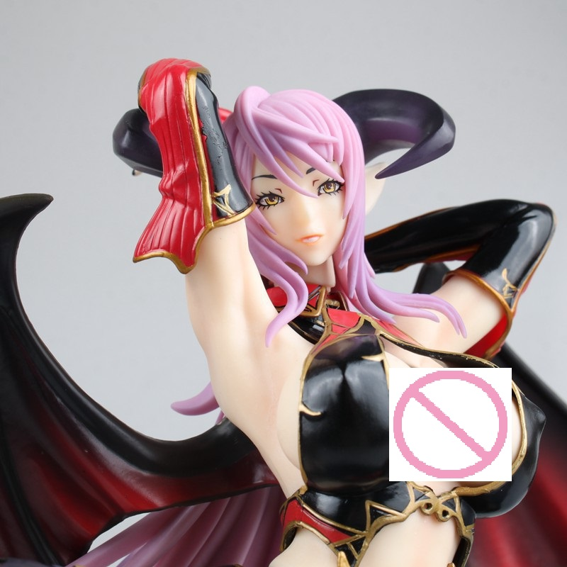 22cm Anime Game Daiki Kogyo Sadakage Illustration Astacia Kneeling Ver. Sexy Girl 1/5.5 Scale PVC Action Figure Model Toys Doll