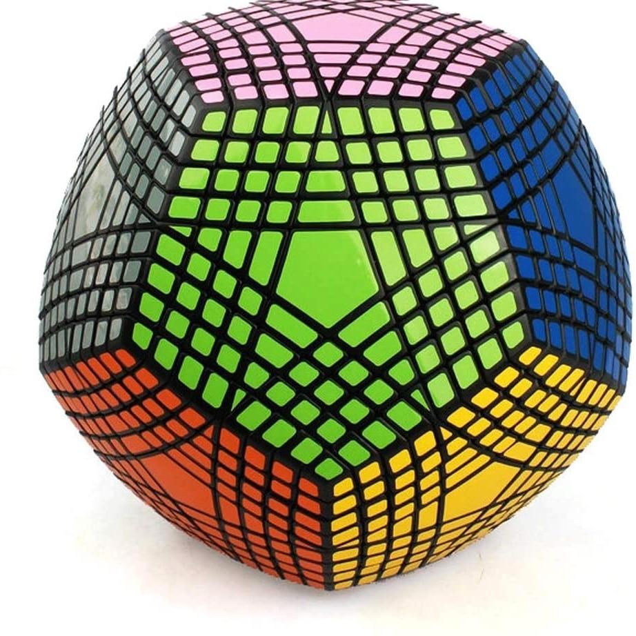 Collection MF8 Petaminx puzzle de Cube magique collée recueilli dodécaèdre 9x9 vitesse puzzle magique collection megaminxsed cube - 5