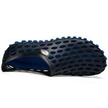 4 цвета-COUPLE'S обувь прозрачная пористая обувь Лето 2188 мужская обувь