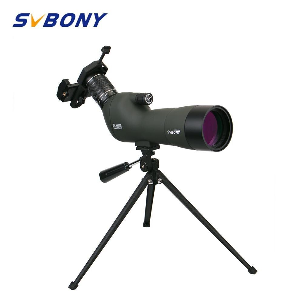 svbony visando o escopo sv29 20 60x60 23mm ocular bak4 prisma a prova dwaterproof agua zoom