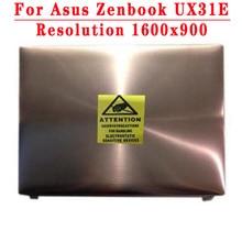Original 13.3 polegada parte superior para asus zenbook ux31e portátil montagem da tela lcd parte superior claa133ua02s hw13hdp101led montagem