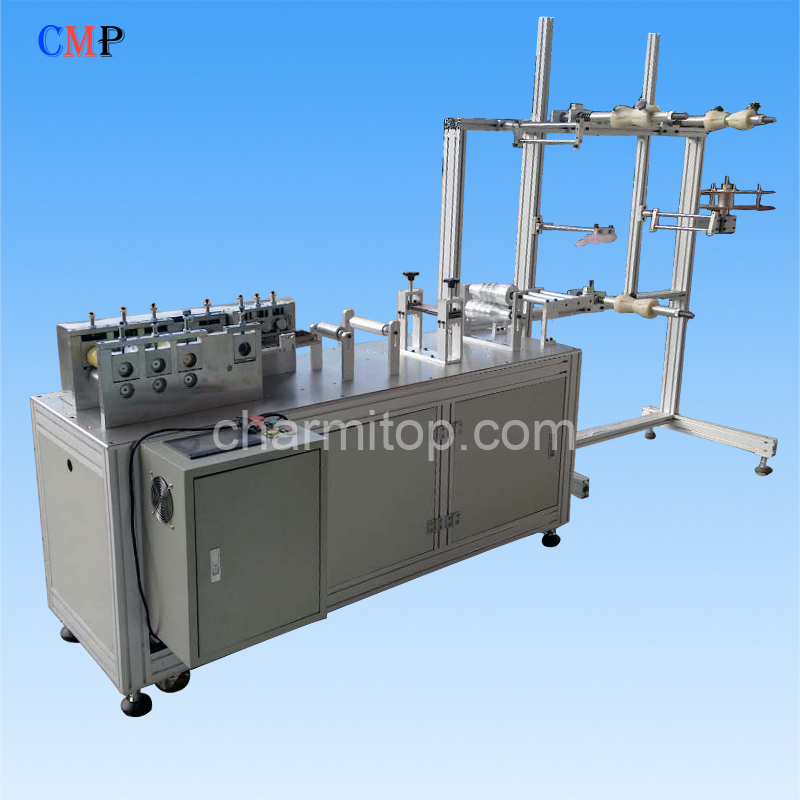 Semi-auto Flat Mask Machine Parts Assembly Slicer