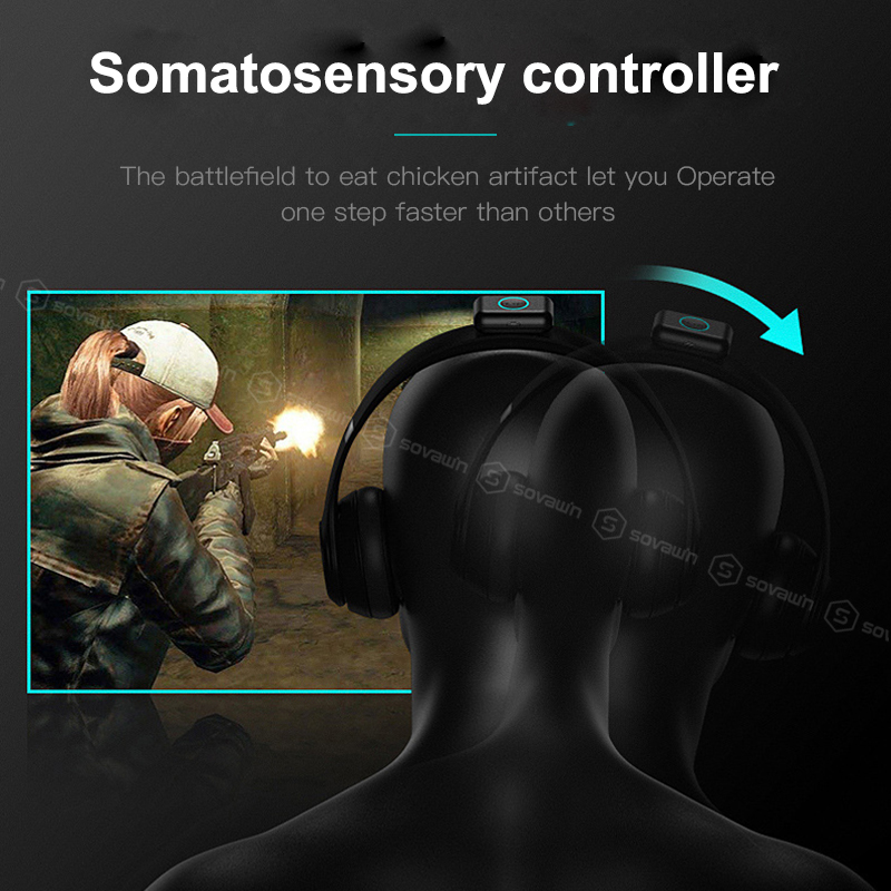 Image 3 - For PUBG Controller Joystick PC Somatosensory Auxiliary Attitude  Controller Human Gravity Sensor for Computer Games Free handsGamepads