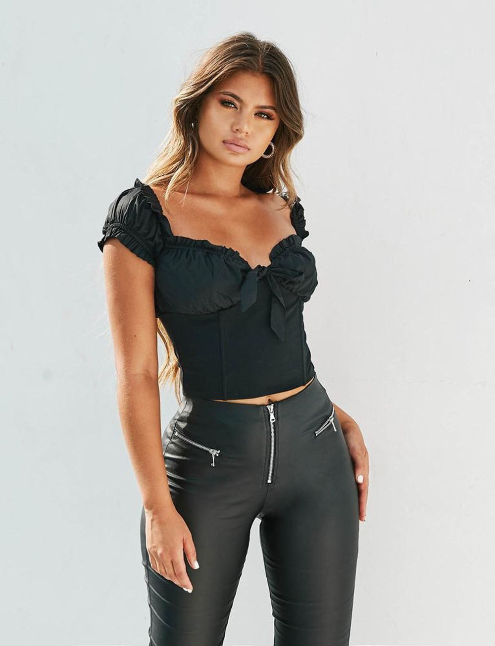 Women Sexy Off Shoulder Casual Bralet Tank Top Fashion Crop Top Ladies Vest Crop Cami Tops Women's Clothes Summer 2019