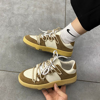 2021 Men Women Skateboard Sneakers Fashion Trainers Autumn Winter Chunky Dunk Sneakers Tenis Female Lace Up Casual Shoes 1