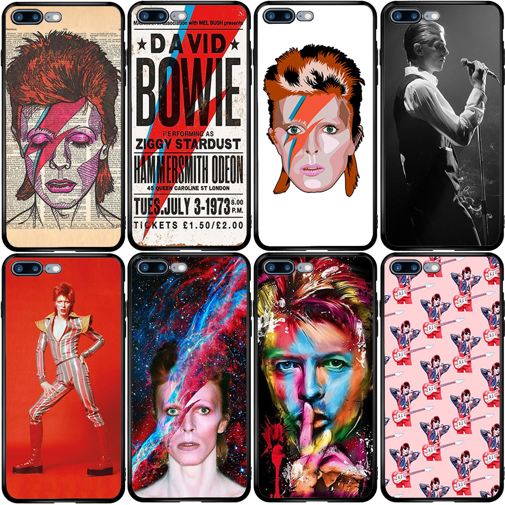 Чехол для iPhone 5 5s SE 2020 6 6S 7 8 XS XR 11 12 Oneplus 3 5T 6T 7T Pro Max Plus David Bowie