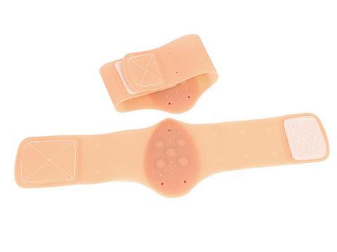 pad palmilha de silicone plana respiravel sapatos