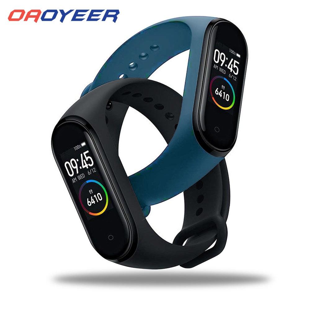Bluetooth M4 смарт-браслет водонепроницаемые часы измерение артериального давления монитор сердечного ритма фитнес-трекер Смарт-браслет PK M3 Plus 1