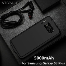 NTSPACE 5000mAh For Samsung Galaxy S8 Plus Battery Case 4000mAh Ultra Slim Backup Power Bank for Charger Cases