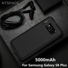 NTSPACE 5000mAh For Samsung Galaxy S8 Plus Battery Case 4000mAh Ultra Slim Backup Power Bank Case for Samsung S8 Charger Cases(China)