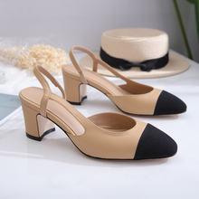 Классические дизайнерские женские сандалии из натуральной кожи;