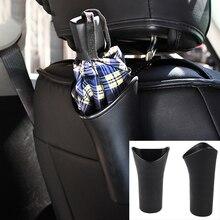 Car Umbrella Drink Cup Support Basket Bin Pocket Car Seat Storage Box Stowage Reordering Organizer Plastic Barrel Accessories