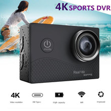 Q6H Ultra HD 4K Sports Action Camera 30FPS 2inch TFFT Touch Screen 170 Degree Wide Angle WIFI Waterproof Cam for Android iOS(China)