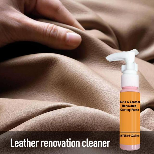 30ml Auto Leather Renovated Coating Paste Maintenance Agent  Accessories Car Wash Antifogging Agent Upholstery Cleaner 1