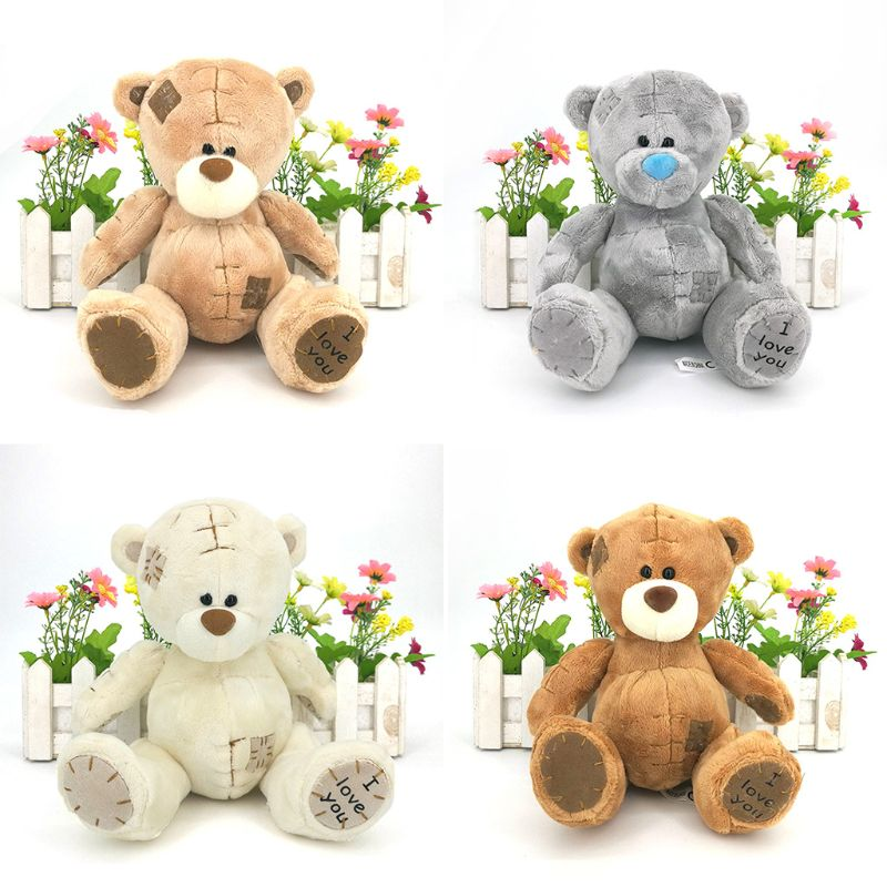 Children Kids Cartoon Plush Teddy Bear Toy Cute Grabbing Doll Boys Girls Educational Toys Birthday Present R7RB