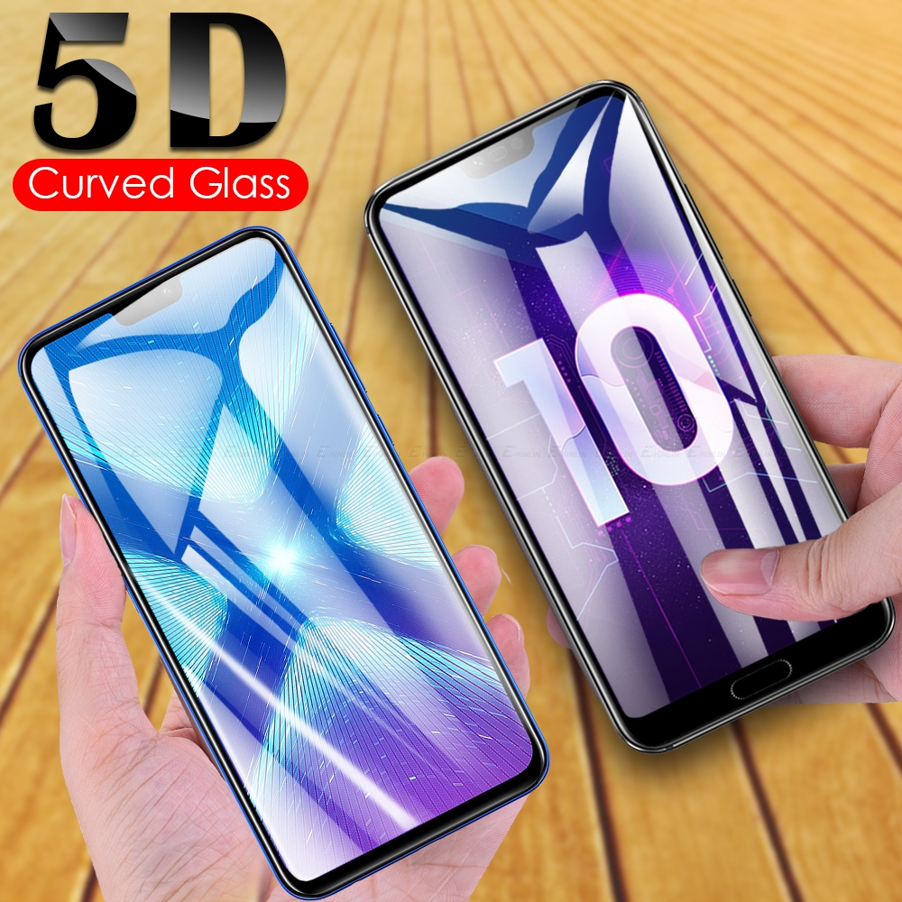 Full Cover <font><b>5D</b></font> Curved Tempered <font><b>Glass</b></font> For <font><b>HuaWei</b></font> <font><b>Honor</b></font> Play 10 <font><b>9</b></font> 9X Pro 8 Lite 8A 8C 8X 8S Screen Protector Protective <font><b>Glass</b></font> Film image