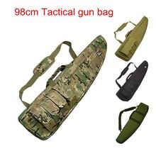 98CM Waterproof Tactical Airsoft Rifle Scope Case Shot  gun Pack Hunting Military Paintball Foam Rubber Sniper Long Gun Bag Gear
