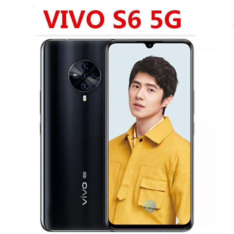 Смартфон Vivo S6, в наличии, на базе Android 10,0, Exynos 980, Amoled экран 6,44 дюйма, 8 ГБ ОЗУ, 256 Гб ПЗУ, 48 Мп + 32 Мп + 8 Мп + 2 Мп + 2 Мп, телефон с системой «5G»