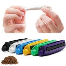 Machine à rouler les cigarettes Portable 110mm, rouleau cône Joint, outil de fumée en plastique, bricolage manuel, tabac, papier à rouler