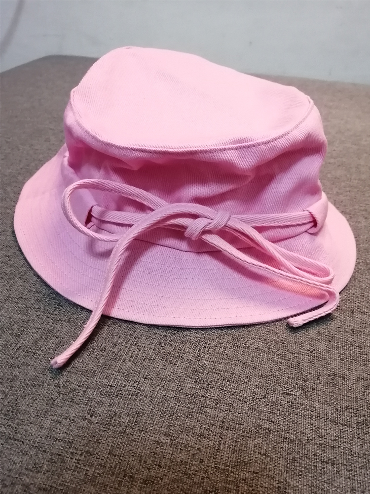 Woman Le Bob Gadjo Canas bucket Hat (with metal letter )
