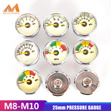 Pressure-Gauge Regulator 30mpa Scuba-Din-Valve Manometre Pcp Paintball M10x1-Thread Mini